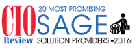 20 Most Promising Sage Solution Providers - 2016
